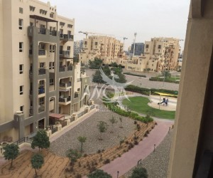 Fully Furnished 2 Bedroom Open Kitchen and Community View in Dubai Land