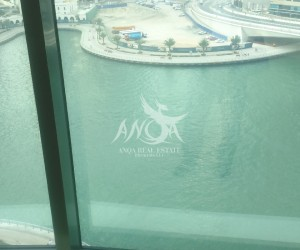 A Pleasant Marina Lake View 3 BR with double balcony. in Dubai Marina