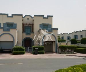 4 bedroom villa + maids room in Falcon City for sale in Dubai Land