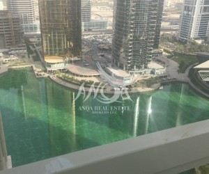 Full Lake View 2 BR with Maid's Room n balcony in Jumeirah Lake Towers